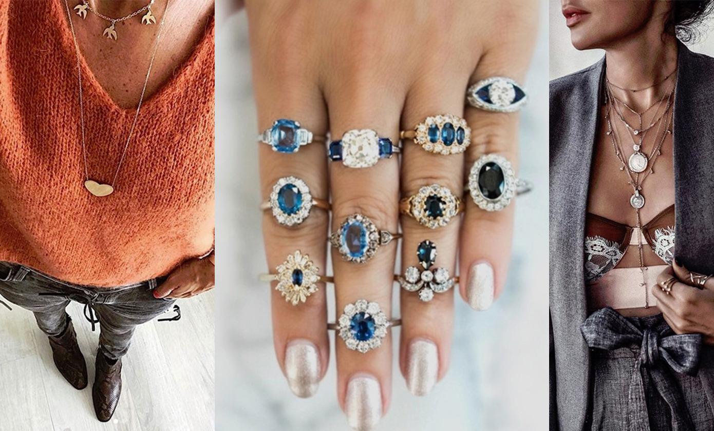 Серьги, кольца, браслеты: как правильно носить украшения