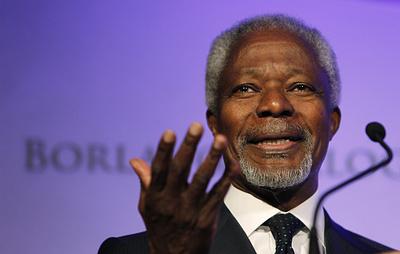 Погасла путеводная звезда добра: умер экс-госсекретарь Кофи Аннан