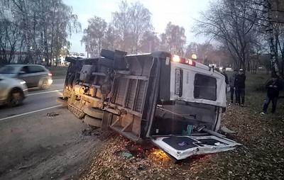 СК возбудил уголовное дело после ДТП с двумя автобусами в Подмосковье