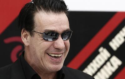 Лидер группы Rammstein Тилль Линдеманн отправится в тур по России
