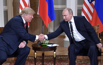 В США заявили, что Путин и Трамп могут встретиться в ноябре во Франции и Аргентине