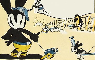 В Японии нашли потерянный мультфильм с первым персонажем Диснея