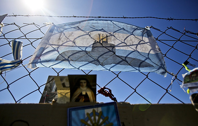 В зоне поиска аргентинской подлодки San Juan засекли объект, похожий на нее по размеру