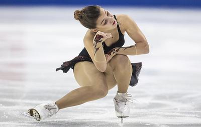 Россиянка Самодурова заняла третье место на этапе Гран-при по фигурному катанию в США