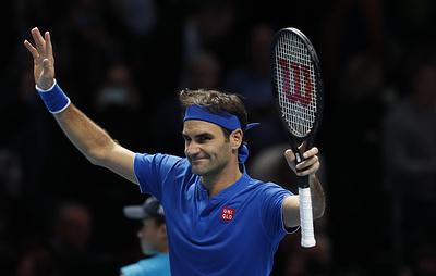 Федерер обыграл Тима в матче Итогового турнира ATP