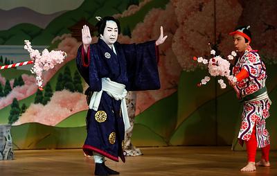 В Москве начинаются гастроли японского театра кабуки