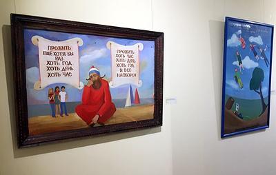 В Екатеринбурге открылась выставка, посвященная художнику Евгению Малахину