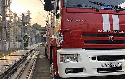 Гибель пожарного и остановка завода. Во Владикавказе 12 часов тушили пожар на заводе