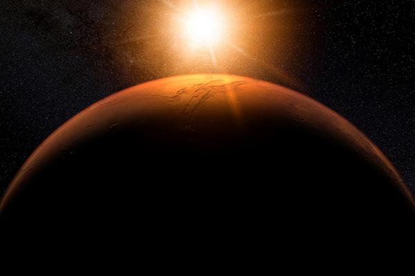 На Марсе нашли гигантскую зону жизни