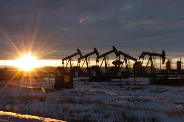 Цена на нефть рухнула