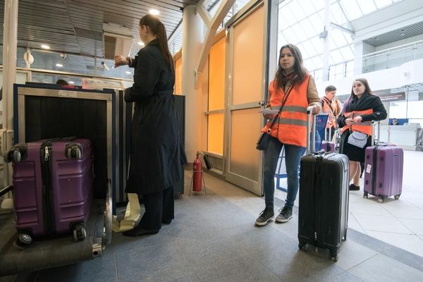 Разозлившийся из-за отмены рейса пассажир поджег свой багаж