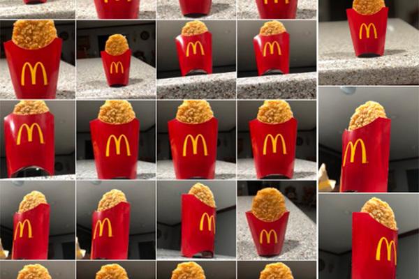 Пьяный мужчина случайно устроил грандиозный фотосет еды из «Макдоналдса»