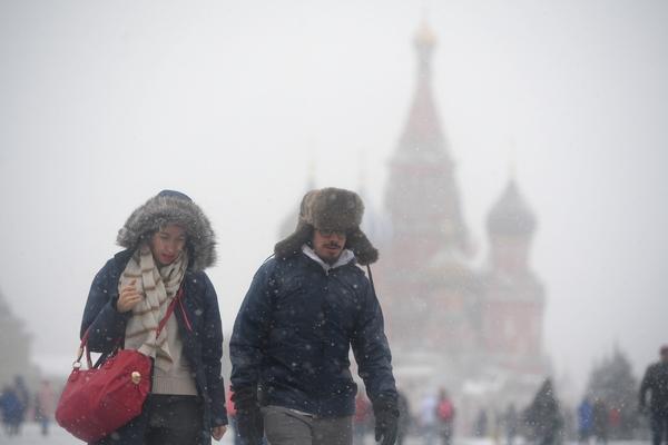 Центральной России предрекли мощный снежный шторм